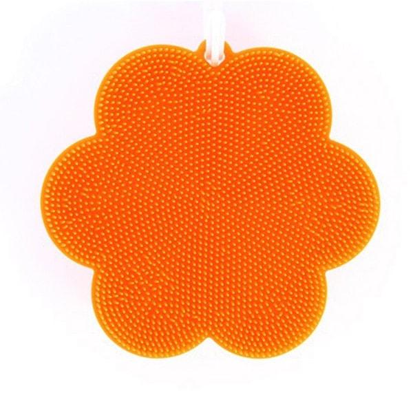 SWISCH Silikonschwamm und Fusselbürste, orange