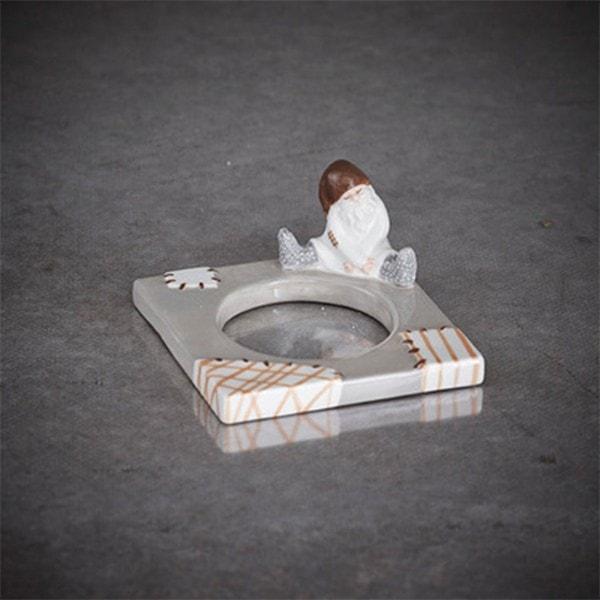 Cult Design Change Raggis - Teelichtmanschett Roger grau braun
