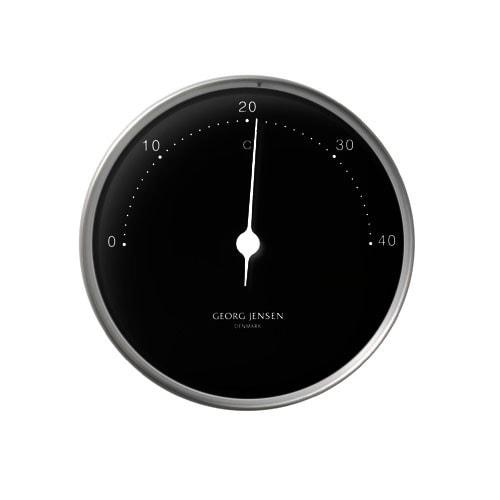 Georg Jensen Thermometer HENNING KOPPEL 10cm schwarz
