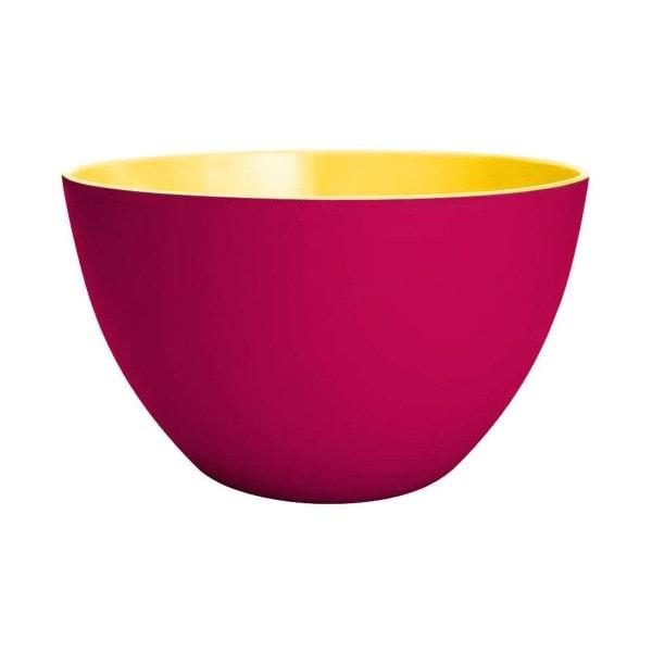 Zak designs Schüssel DUO 22 cm Grapefrucht-gelb