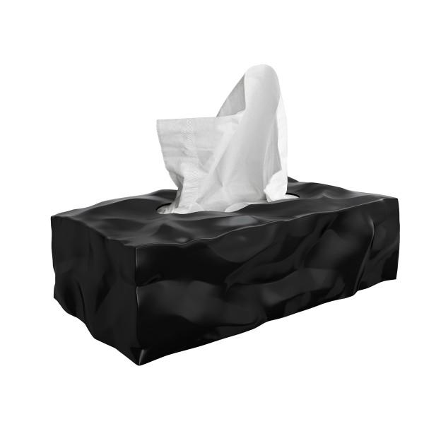 Essey Kosmetiktücher-Box WIPY II schwarz