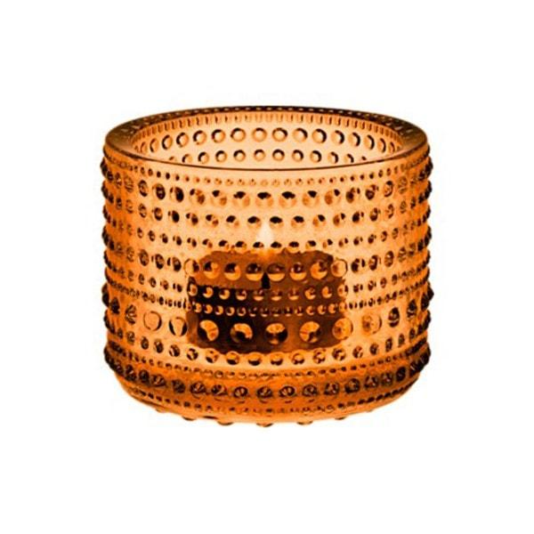 Iittala Teelichthalter KASTEHELMI seville orange 6.4 cm