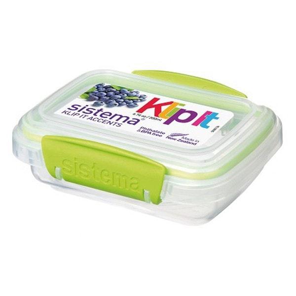 sistema Frischhaltedose Klip it accents, 0.2 l grün