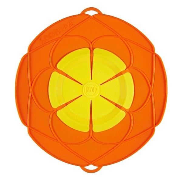 Kochblume Überkochschutz orange 25.5 cm