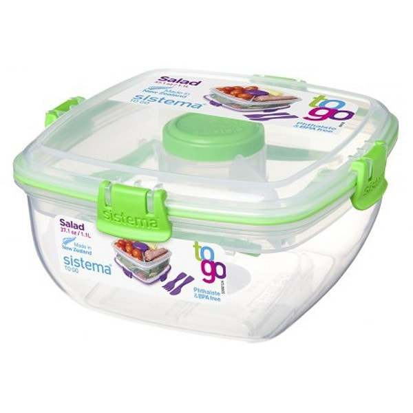 sistema Salatbox To Go, grün