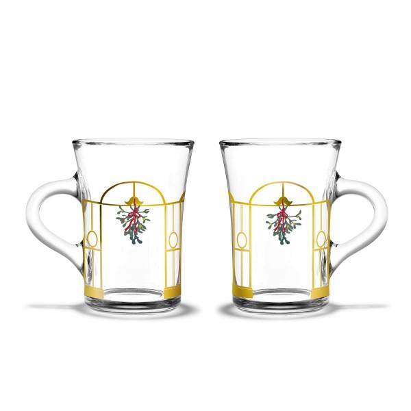 Holmegaard Thermo Gläser Weihnachten 2020, 2er-Set
