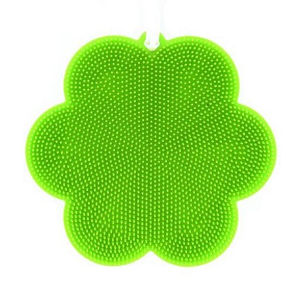 SWISCH Silikonschwamm und Fusselbürste grün