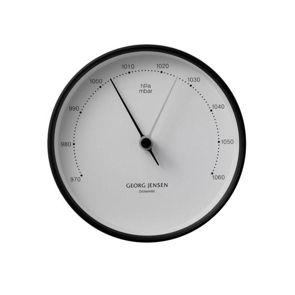 Georg Jensen Barometer HENNING KOPPEL 10cm schwarz-weiß