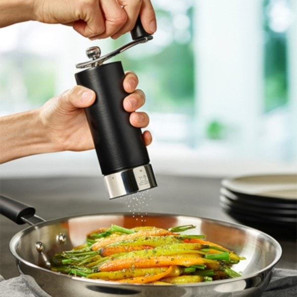 Peugeot Salzmühle ISEN u'Select, schwarz 18cm