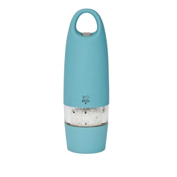 Peugeot elektrische Salzmühle ZEST, blaue Lagune