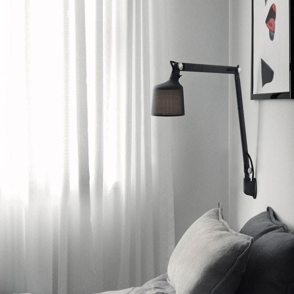 VIPP 522 Wandlampe, schwarz