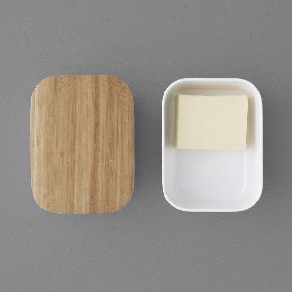 RIG-TIG BOX-IT Butterdose, warmgrau