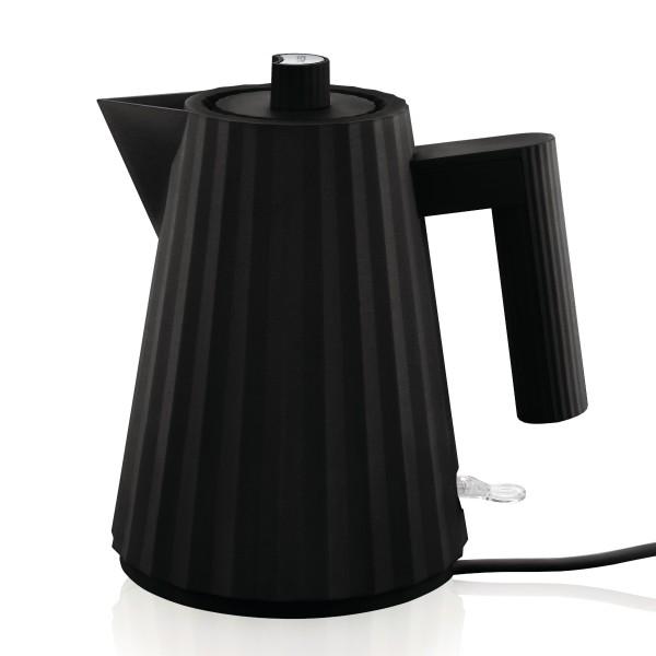 Alessi Wasserkocher Plissé 1l, schwarz
