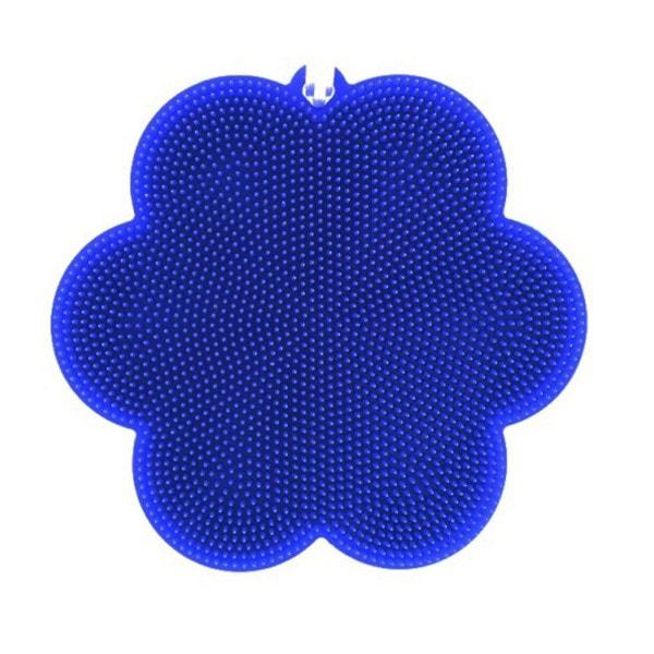 SWISCH Silikonschwamm und Fusselbürste dunkelblau