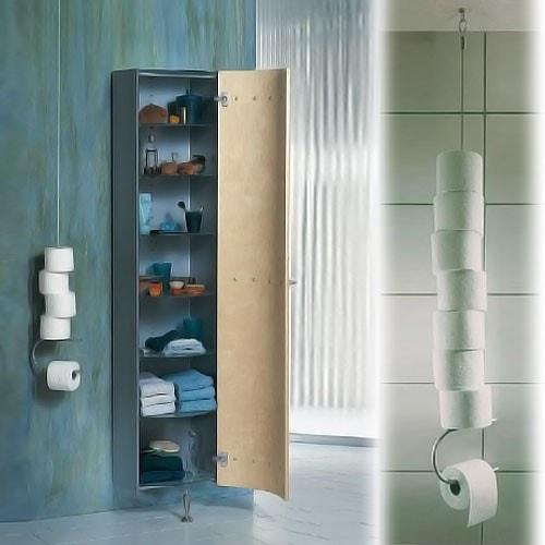 Toilettenpapierhalter D-TEC ROLLENSPIEL 2.5 m