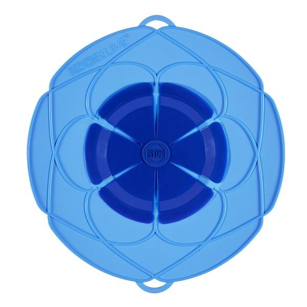 Kochblume Überkochschutz blau 29 cm