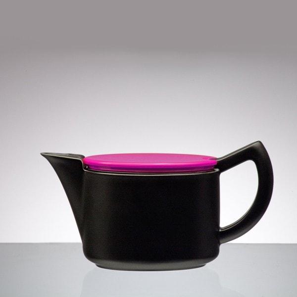 Sowden SoftBrew Kaffeekanne JAMES 0.4L schwarz-weinrot