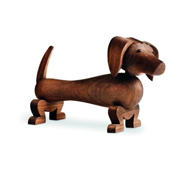 Kay Bojesen Holzfigur Hund