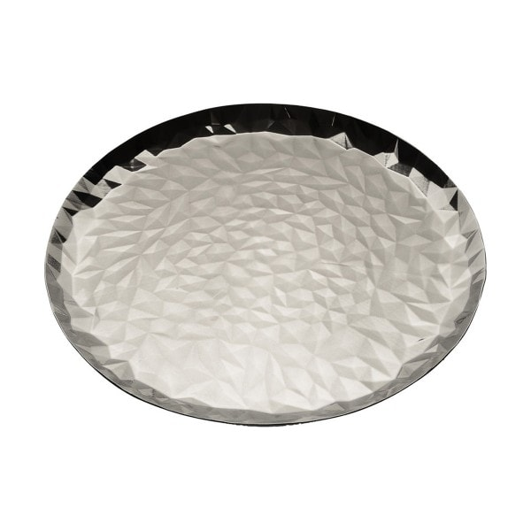 Alessi Tablett Joy N. 3, 40 cm, rund poliert