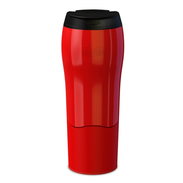 Mighty Mug Standfester Thermobecher, rot