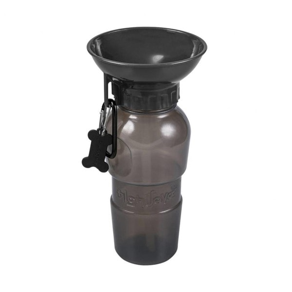 Highwave Hunde Trinkflasche L, graubraun