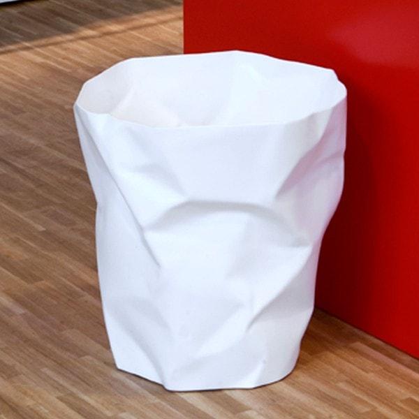 Klein und More Papierkorb BIN BIN weiss