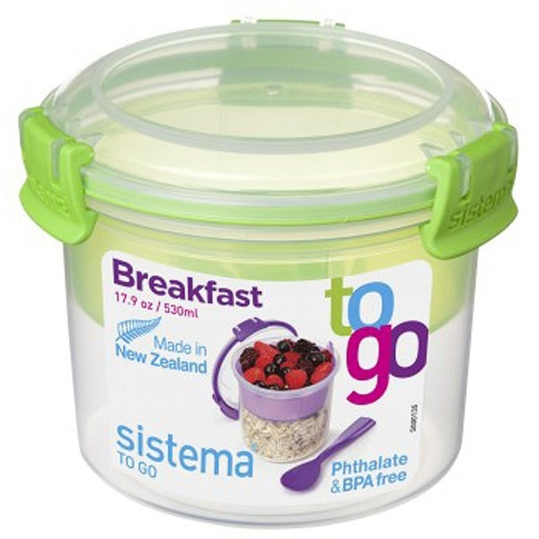 sistema Box Breakfast To Go 0.53 l, grün