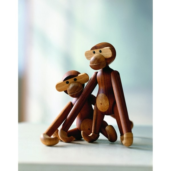 Kay Bojesen Holzfigur Affe klein