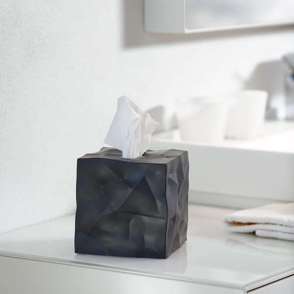Essey Papiertücher-Box WIPY CUBE schwarz