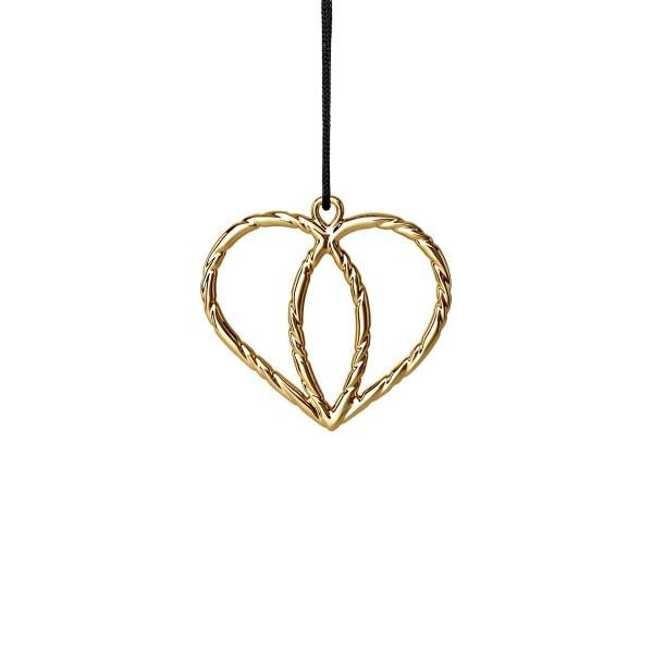Rosendahl Weihnachtsbaumschmuck - Herz Krone gold