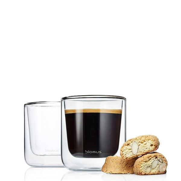 BLOMUS Kaffee Thermo- Gläser, 2er Set
