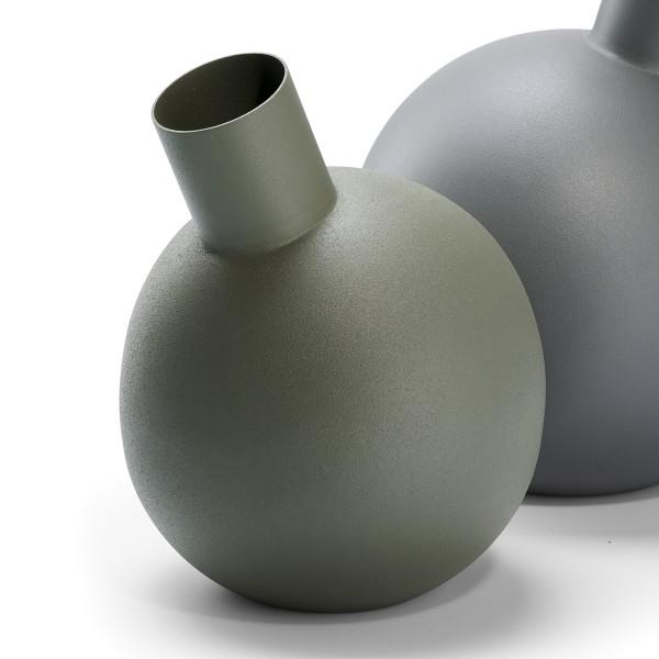 Philippi Vase BALLOON, grüngrau 20 cm