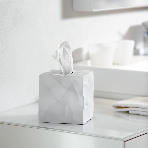 Essey Papiertücher-Box WIPY CUBE weiß