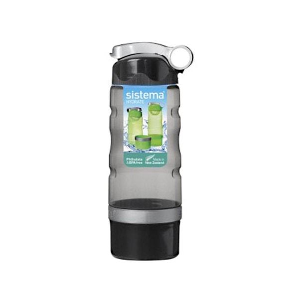 sistema Trinkflasche Sport Fusion 615 ml, schwarz