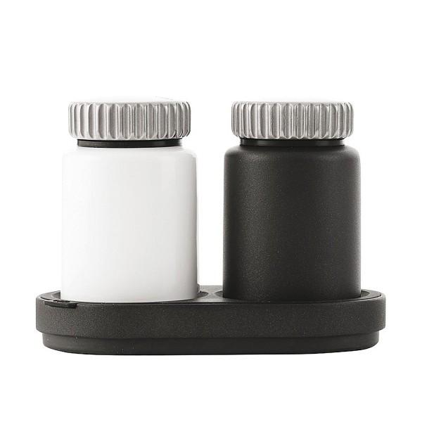 Vipp 263 Salz- und Pfeffermühle 3-tlg., schwarz, weiß