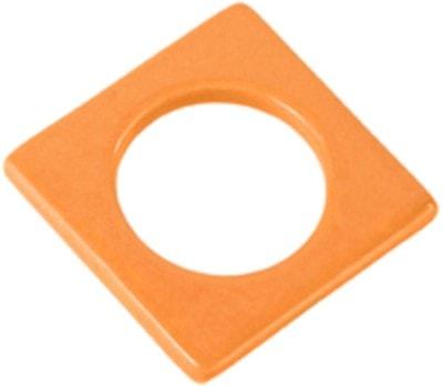 Cult Design Manschette für Teelichthalter orange