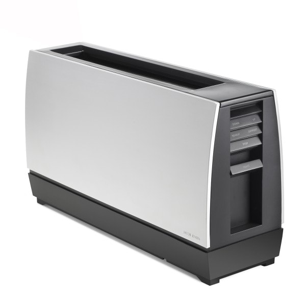 Jacob Jensen Toaster ONE SLOT II silberschwarz