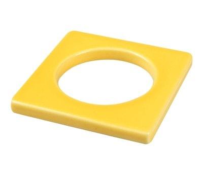 Cult Design Manschette für Teelichthalter gelb