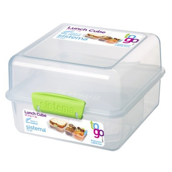 sistema Lunch Box To Go, Clip grün