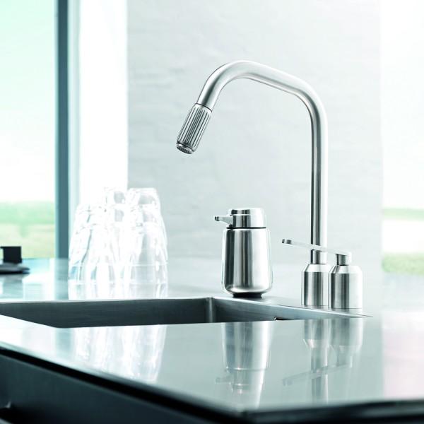 VIPP 901 Küchenarmatur, Edelstahl