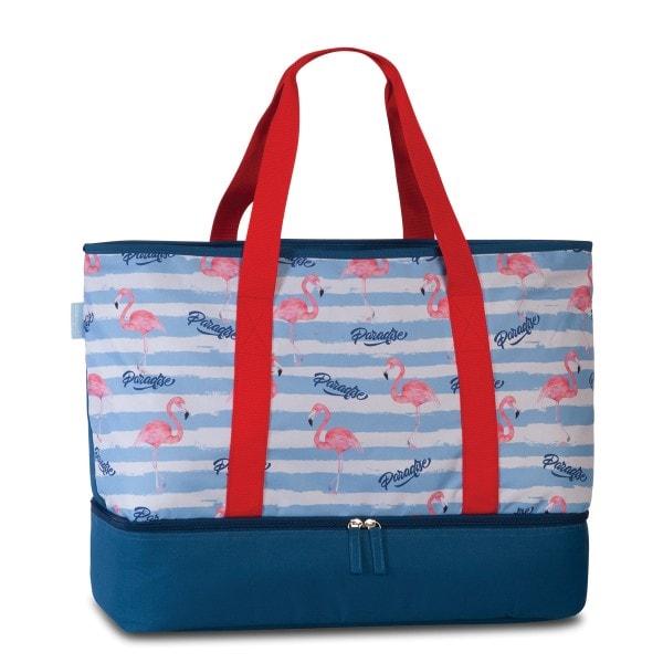Fabrizio Sommertasche mit Kühlfach, Flamingo