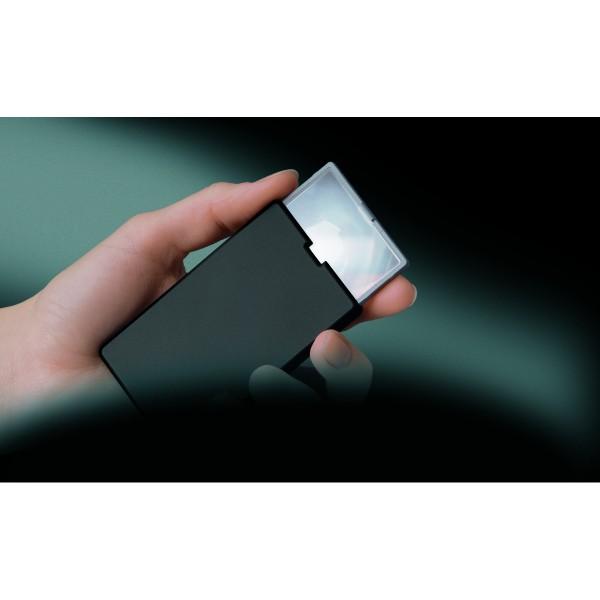 ESCHENBACH Taschenleuchtlupe easyPocket schwarz 3x, 8 dpt
