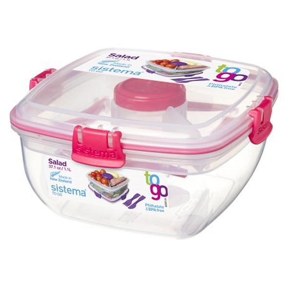 sistema Salatbox To Go, pink