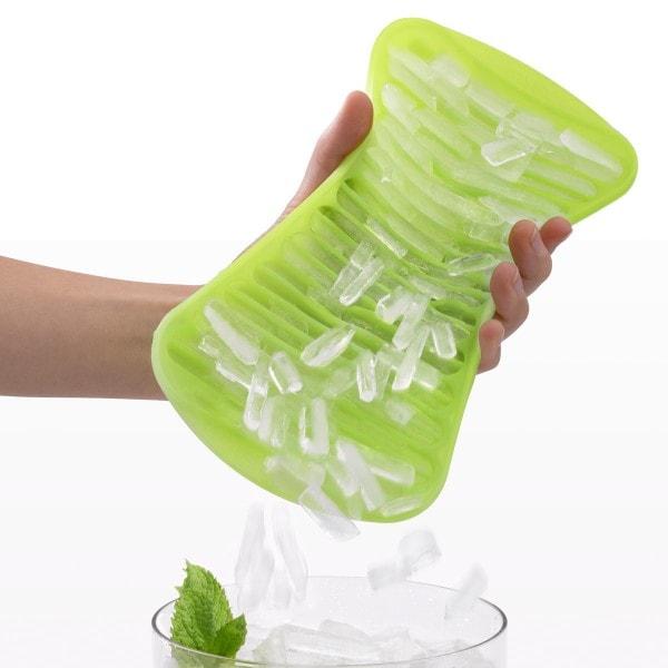 Lekue ICE CRUSHER Eiswürfelbereiter grün - 2er Set