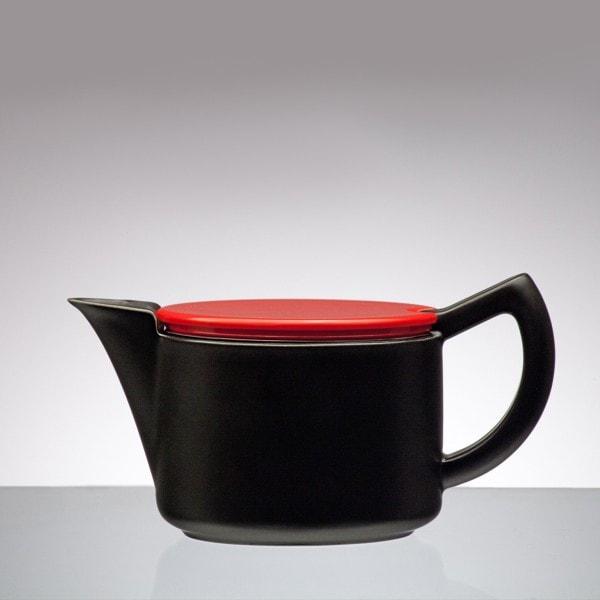 Sowden SoftBrew Kaffeekanne JAMES 0.4L schwarz-rot