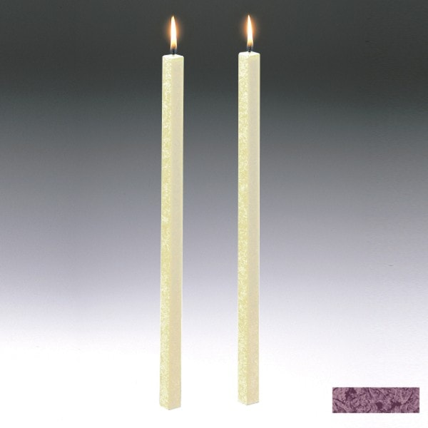 Amabiente Kerze CLASSIC Burgund 40cm - 2er Set
