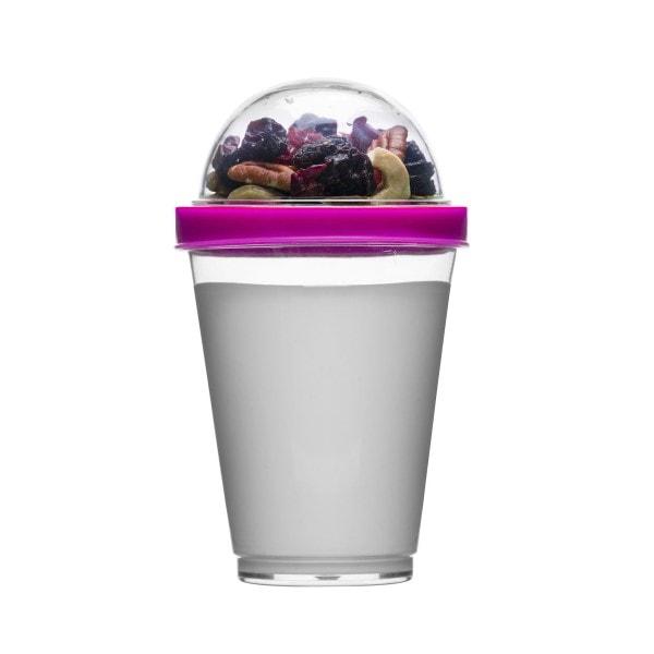 Sagaform Yoghurtbecher Fresh to go, pink