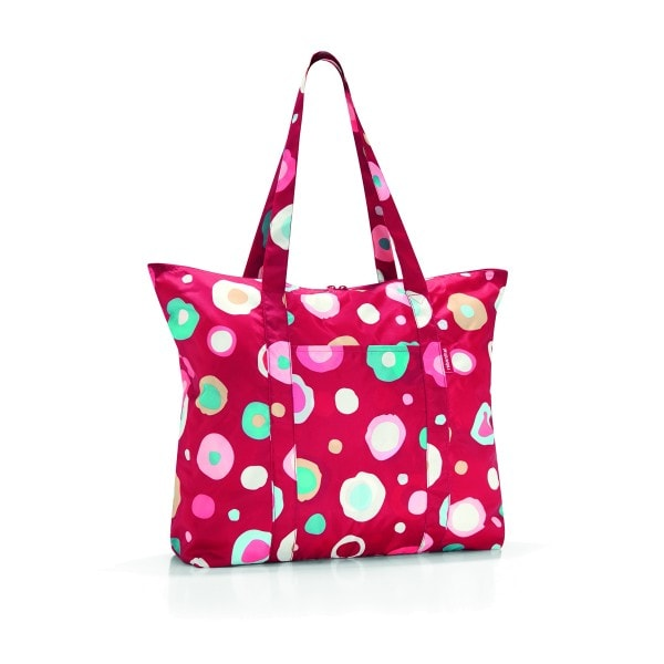 Reisenthel MINI MAXI TRAVELSHOPPER funky dots 2 rot