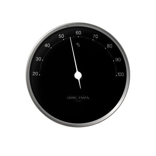 Georg Jensen Hygrometer HENNING KOPPEL 10cm schwarz