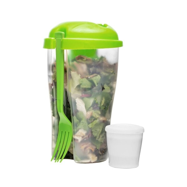 Sagaform Salatbecher Fresh to go, grün
